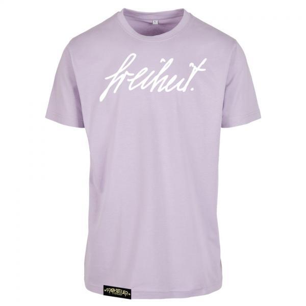 Signatur Shirt Lila