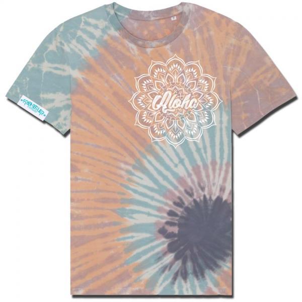 Aloha Shirt Orange Unisex
