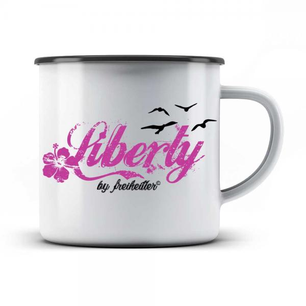 Emaille Tasse Liberty