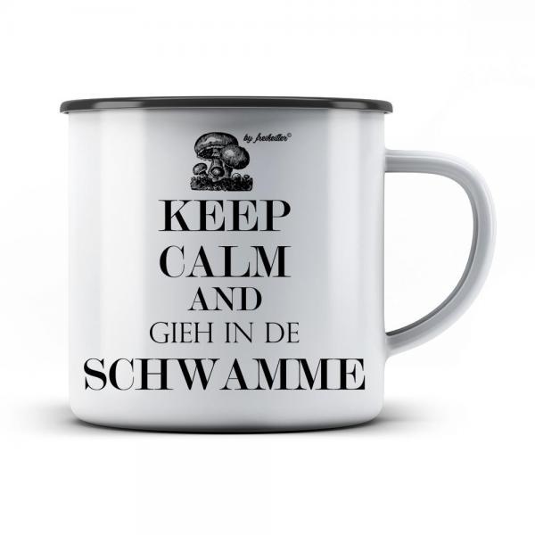 Emaille Tasse Keep Calm