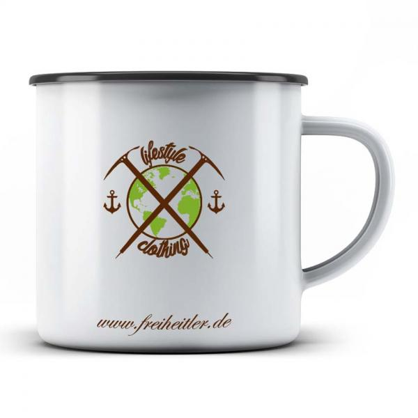 Emaille Tasse Lifestyle