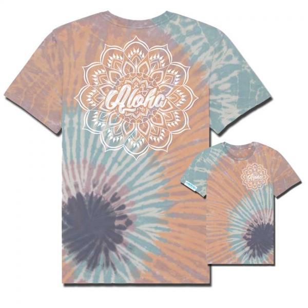 Aloha Shirt Backprint Orange Unisex