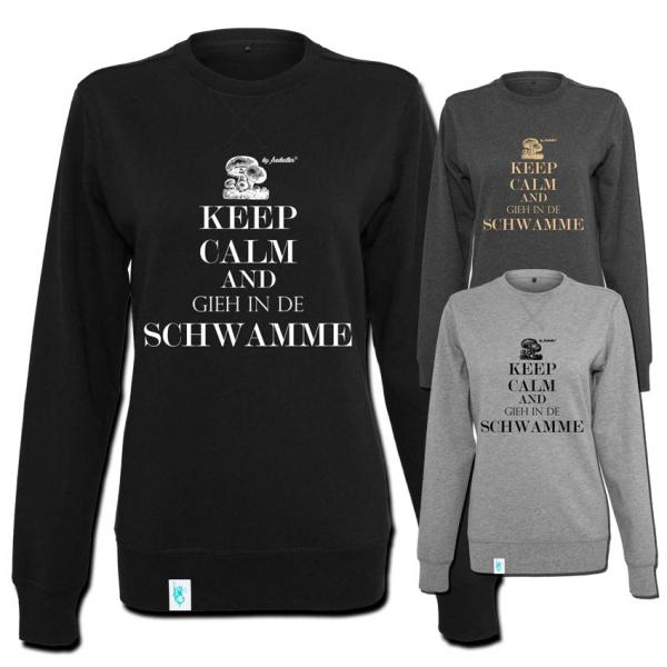 Keep Calm Sweater Frauen