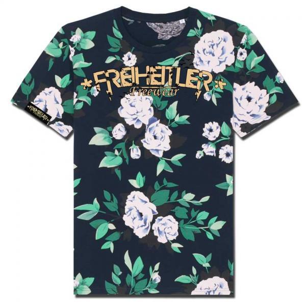 Bio Shirt Flowers Unisex