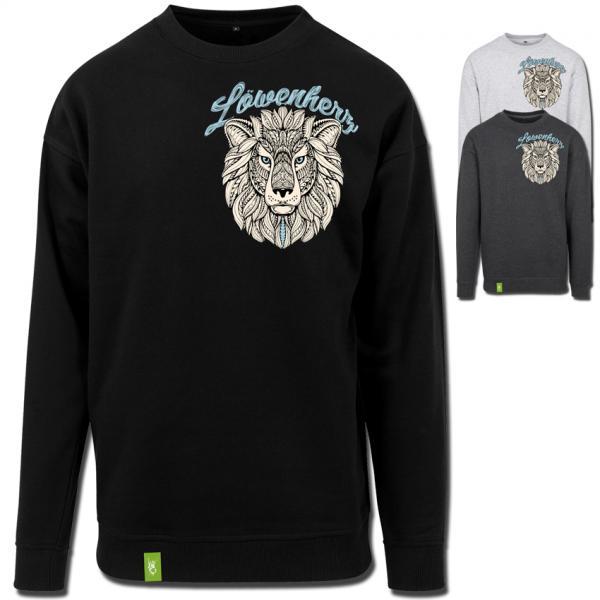 Löwenherz Glow Sweater Männer