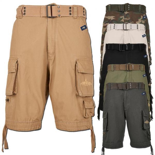 Cargo Belt Shorts